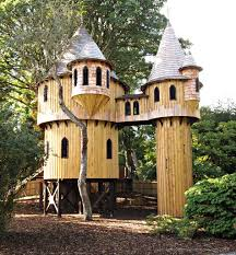 Cool Treehouses For Kids Small Kids Tree House In The Woods Diy Idea For Kids Playground