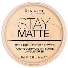 rimmel stay matte pressed powder transpa lookfantastic