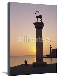 Entrance to Rhodes Harbour at Dawn, Rhodes, Dodecanese Islands, Greece,  Europe' Photographic Print - John Miller | AllPosters.com