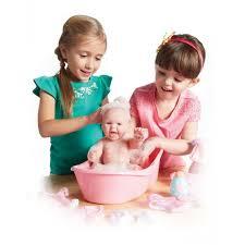 la newborn baby doll bathtub set 8 pieces