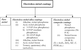 Zinc Nickel Plating Process Flow Chart Electroless Nickel Alloy Composite And Nano Coatings A