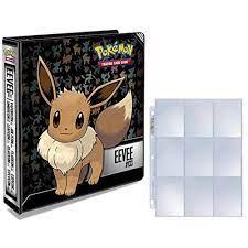 Ultra Pro Pokemon Eevee 3-Ring Binder 25 Platinum 9-Pocket Pages