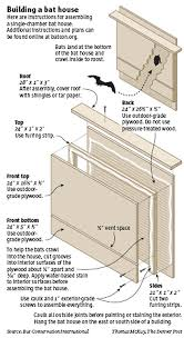 bat house plans. How To Build A Bat House. Bats Are Great Way Get Rid Of House Plans B