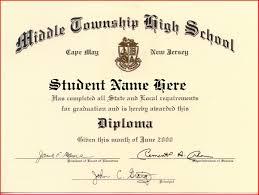High School Deploma High School Diploma