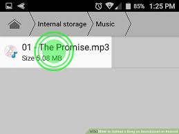 soundcloud image size how to upload a song on soundcloud on android 7 steps