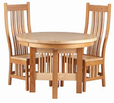modern wooden dining chairs with high back design and wooden round dining table