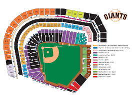 San Francisco Stadium Seating Chart Stadium Seat Numbers Chart Images Online