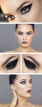 todays look lindas sminkg black swan costume eye makeupblack