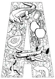 Abc Coloring Pages Letter Printable Coloring Pages Abc Coloring