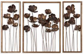 hand forged metal wall art gold leaf tulips on jewelled metal tulip wall art with 26 best metal wall art images on pinterest metal plaque metal