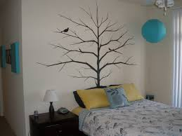 stencil wall art awesome tree silhouette painting wall
