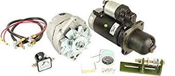 amazon com db electrical akt0017 alternator starter for db electrical akt0017 alternator starter for conversion kit john deere tractor for models 3010 3020