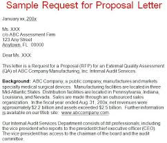 Simple Template Request For Proposal Letter Although Rfp Sample ...