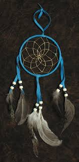 Dream Catcher Foundation Blue Dream Catcher Hanging 100 inch Southwest Indian Foundation 36