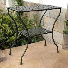 iron patio furniture. Wrought Iron Patio Furniture, Side Table, Outdoor Furniture