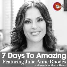 Red Carpet to Reinvention: Celebrity Chef Julie Anne Rhodes by 7 Days To  Amazing Podcast with Sharon Haver on SoundCloud - Hear the world's sounds