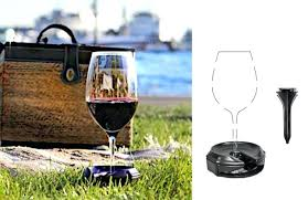 outdoor wine glass holder chair mounted armrest and ikea singapore under counter
