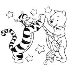 Small Picture Top 25 Free Printable Tigger Coloring Pages Online