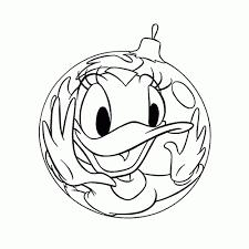 Leuk Voor Kids Katrien Duck Kerstbal In Kerstbal Kleurplaat In