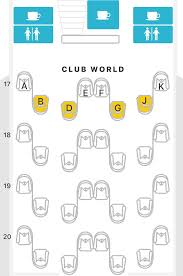 British Airways Business Class Seating Chart British Airways Direct Routes From The U S Plane Types