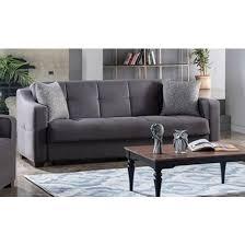 tahoe fabric storage sleeper sofa by