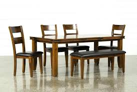 dining tables dining table and chairs for 6 piece set partridge shaker espresso furniture in