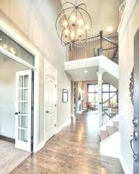 2 story foyer chandelier entryway lighting height hang