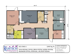 small office plans. 7 Modular Medical Building Floor Plans Healthcare Clinics Offices Small Office Interesting Design Ideas P