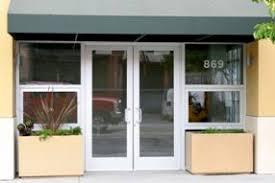 Glass Aluminum Storefront Doors Serving the Bay Area Oakland San