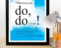 disney office decor. a3 walt disney you can do it quote poster motivational positive thinking office decor