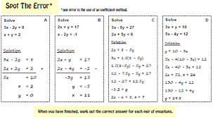 equations inequalities