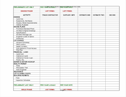 Estimate Template Asepag Spreadsheet Home House Building Budget And
