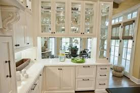 Glass In Kitchen Cabinet Doors Extraordinary Decorating With Glass Cabinets Doors Brings Light Into Modern