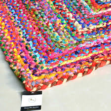 large braided rugs chunky wool rectangular large braided rugs