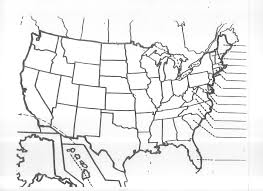 Printable Blank Map Of The Us Download Them Or Print