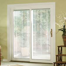 Masonite 32 In X 80 In Full Lite Mini Blind Left Hand Inswing Blinds In Windows Door