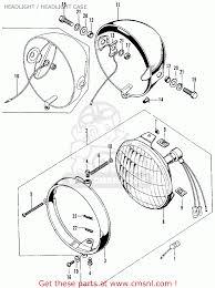 Honda cb125s s2 1975 usa headlight headlight case buy headlight honda cb125s s2 1975 usa headlightheadlight