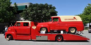 Just A Car Guy: The '53 COE crew cab in Gilmore colors has a ...