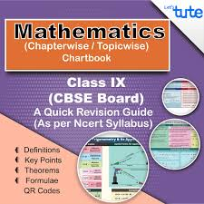 Letstute Cbse Maths Chart Book Class 9 Topicwise Chapterwise
