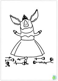Olivia The Pig Coloring Page Coloring Pages Pinterest