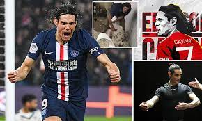 Please email me with any questions. Edinson Cavani From Farming And Ballet To The Manchester United Spotlight Daily Mail Online