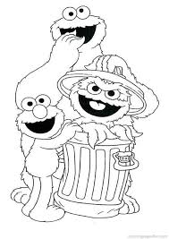 Sesame Street Coloring Pages 45 Coloring Parties Sesame Street