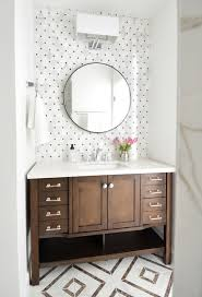 glamorous bathroom best 25 wood vanity ideas on at tile accent wall in
