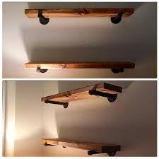 rustic wood shelving 40 diy shelves you can build yourself