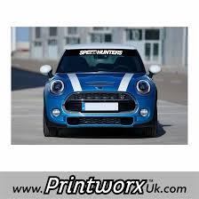 Sport Series mini cooper bmw : BMW Mini Sunstrip - All Models - Printworx UK