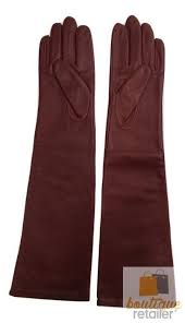dents women s elbow length leather gloves