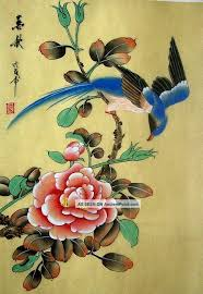 anese silk paintings anese hand painted silk painting flower bird 1039 paintings