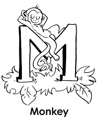 letter i coloring pages bubble letter coloring pages letters m page monkey color letter n coloring