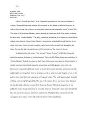 f scott fitzgerald compared winter dreams vs the great gatsby  7 pages winter dreams essay