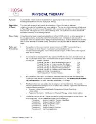 Occupational Therapy Assistant Resumes Resume Template